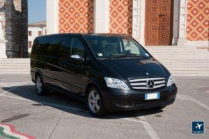 Mercedes Viano 7 posti con conducente