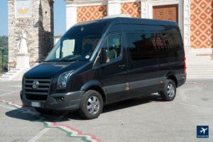 Minibus 8 posti con conducente mercedes