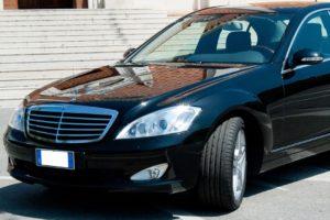 Mercedes 3 posti Classe S VIP nera